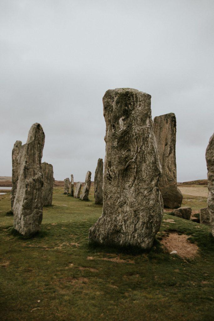 Callanish Stones up close