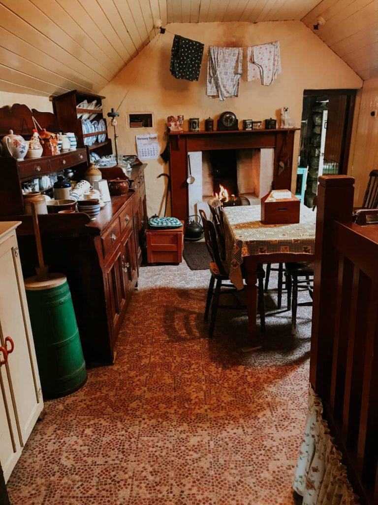 Inside of the Blackhouses