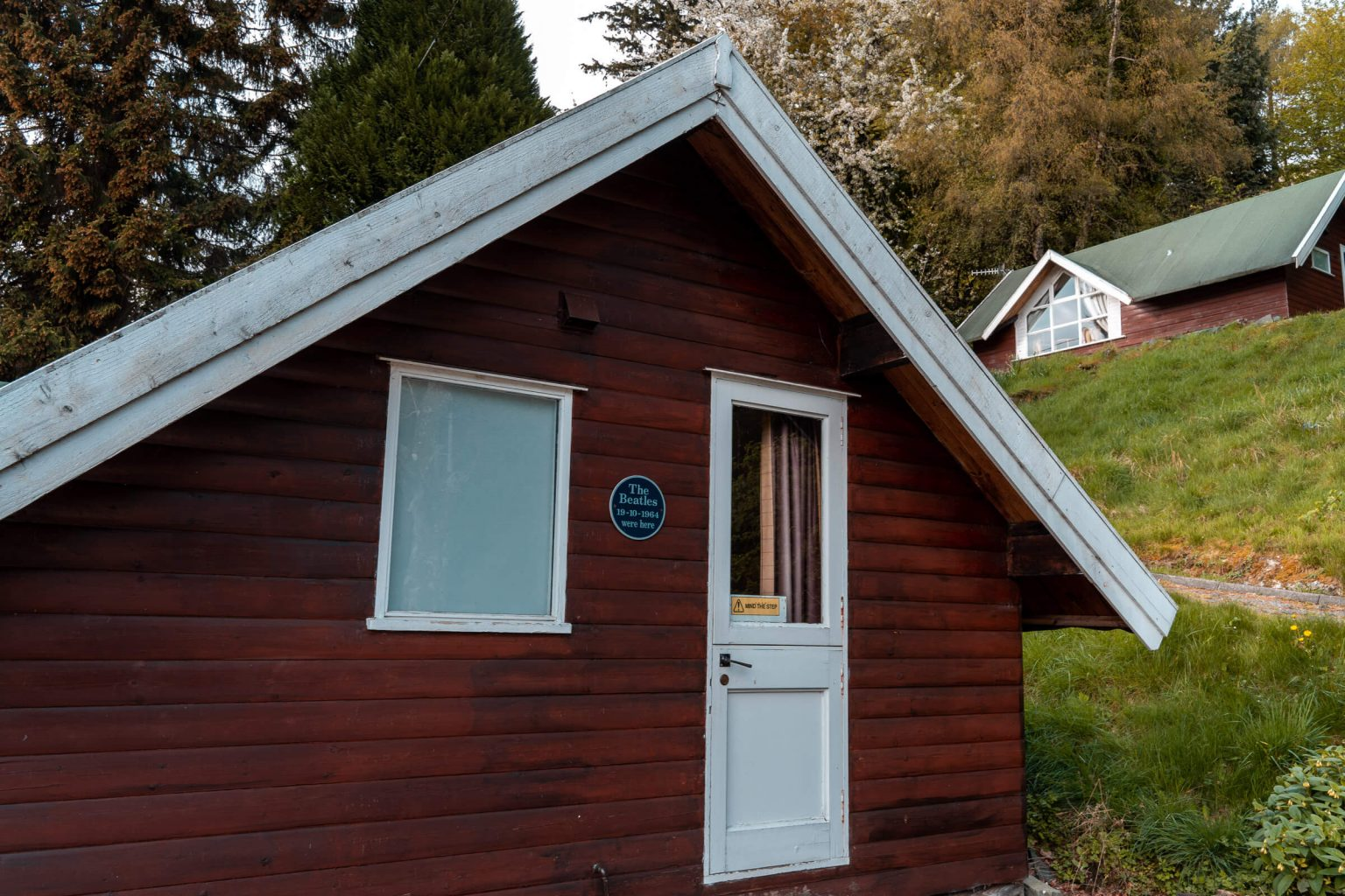 Chalet where the Beatles stayed